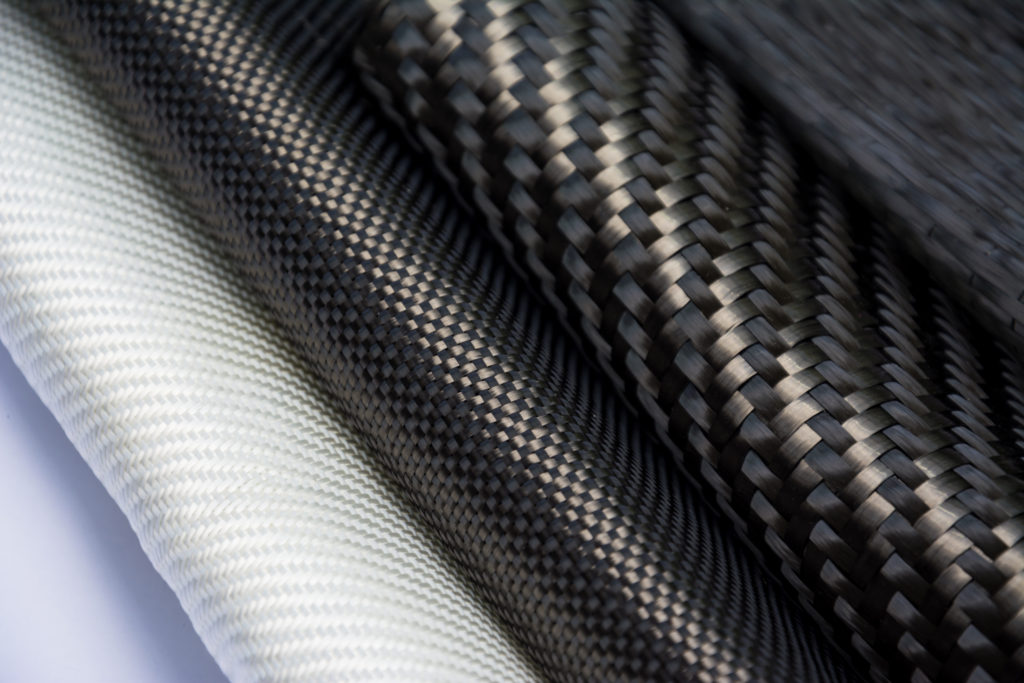 tissus composites à partir de carbone