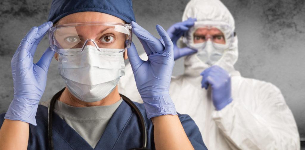 Equipements de protection contre le coronavirus